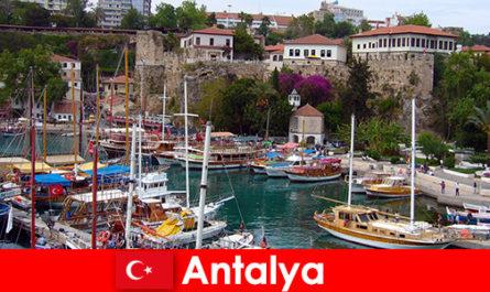 Turkey Antalya holiday resort on the Mediterranean coast