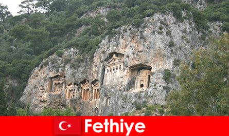 Fethiye city in southwestern Turkey