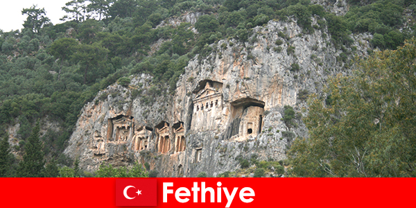 Fethiye city in southwestern Turkey