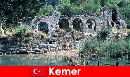 Kemer represents the European part of Turkey
