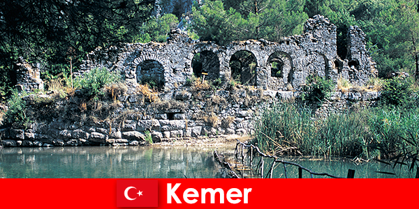 Kemer represents the European part of Turkey