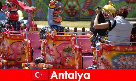 A nice family vacation in Antalya in Turkey