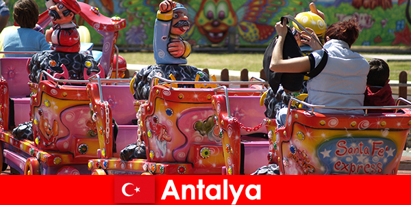 A ni-ce family vacation in Antalya in Turkey