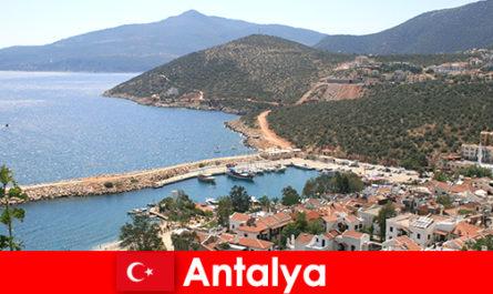 Beaches in Antalya Turkey