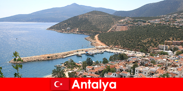 Beaches in Antalya Turkey