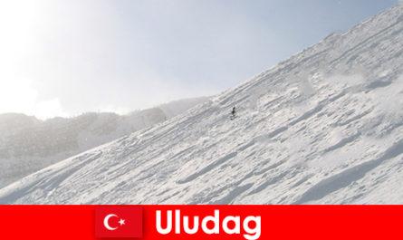 Winter vacation in Turkey Uludag