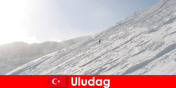 Winter vacation in Turkey Uludag