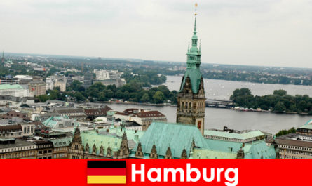 Travel and entertainment to Reeperbahn in the city of Hamburg