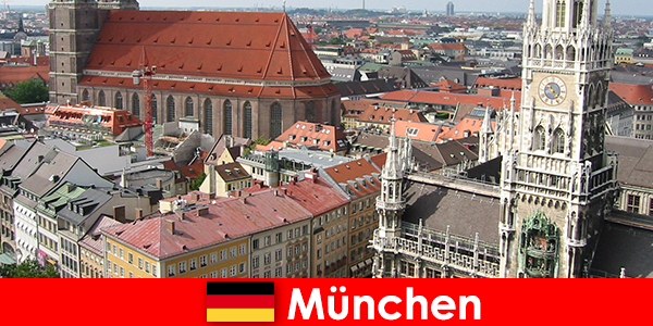 As a vacationer with jogging or fitness opportunities in the city of Munich