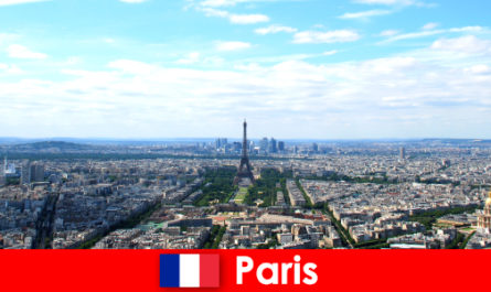 Experience sights in the big city of Paris