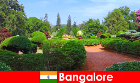 Vacationers in Bangalore love the soothing beautiful parks and gardens