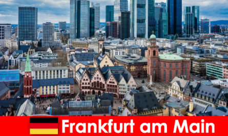 Luxury trip in the city of Frankfurt am Main for connoisseurs