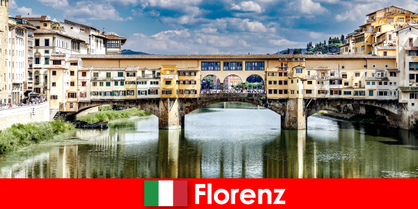 Emigrated to Florence as a pensioner with family and children