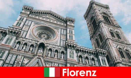 Florence with many art historical cities attracts visitors from all over the world