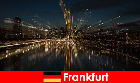 Frankfurt European transportation hub for foreigners in Germany