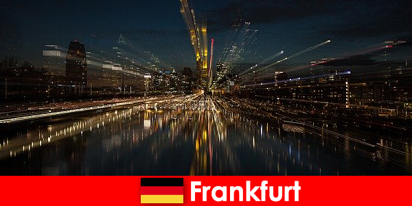 Frankfurt European transportation hub for foreigners in Germany