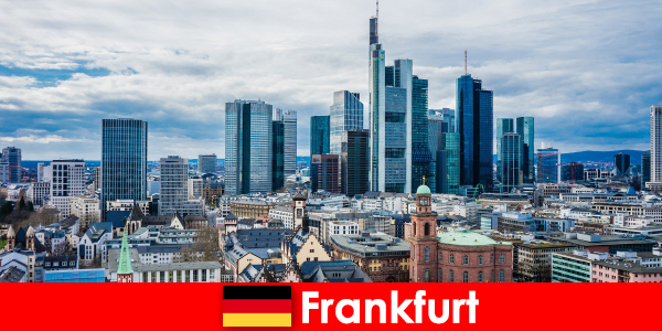 Tourism attractions in Frankfurt, the metropolis for high-rise buildings