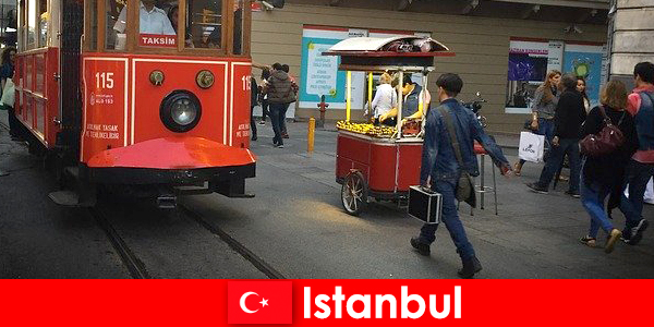 Istanbul the world metropolis for all people and cultures from around the world