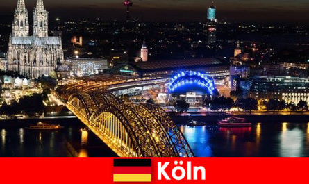 Music, culture, sports, party city of Cologne in Germany for all ages