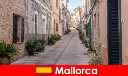 Paradise for sports tourists in Mallorca in nature landscapes and beaches