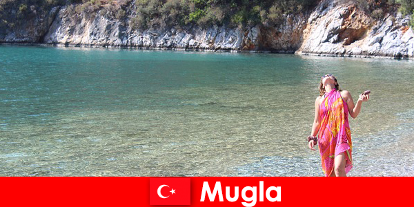 Beach vacation in Mugla, one of the smallest provincial capitals in Turkey