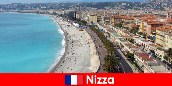 Experience the dream beach of Nice in France
