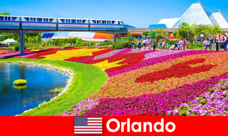 Orlando is the tourist capital of the United States with numerous theme parks
