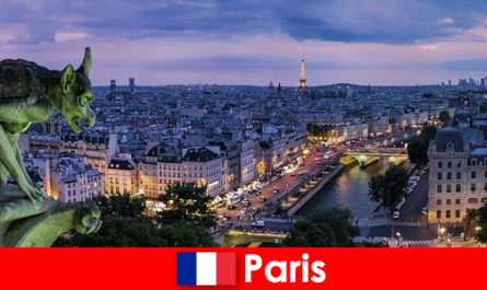 Paris an artist city with a special fascination for buildings