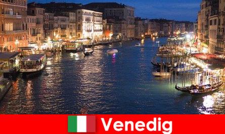 Veni-ce a city with gondolas and its numerous art treasures
