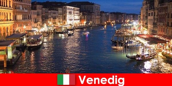 Veni-ce a city with gondolas and its numerous art treasures
