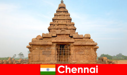 Chennai foreigners love the beauties of the UNESCO World Heritage Site temples