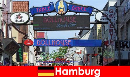 Hamburg Reeperbahn - nightlife brothels and escort service for sex tourism