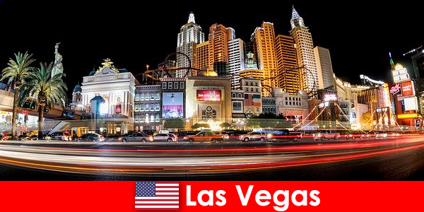 Las Vegas the world capital of entertainment delights foreigners with its nightlife