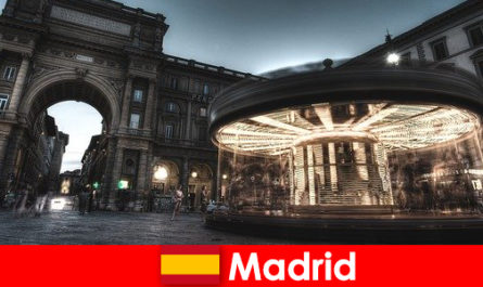 Madrid known for its cafes and street vendors is well worth a city break