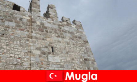Adventure trip to the ruined cities of Mugla in Turkey