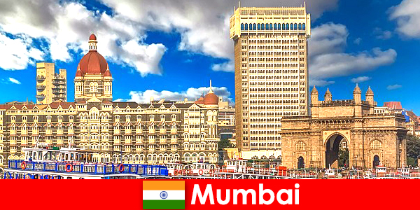 Mumbai an important metropolis in India for business and tourism