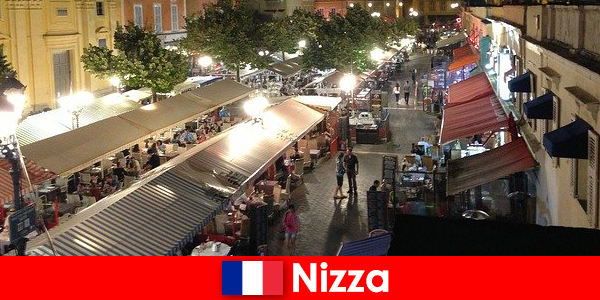 Nice offers cozy restaurants and well-attended nightlife spots for foreigners