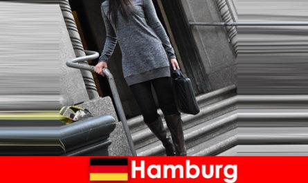 Elegant ladies in Hamburg spoil travelers with exclusive discreet escort service