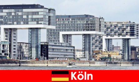 Imposing high-rise buildings in Cologne amaze strangers