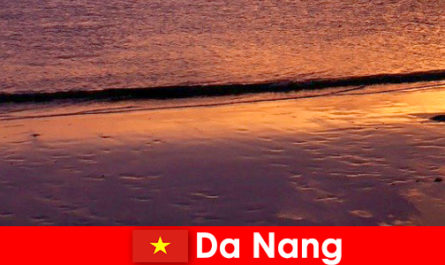 Da Nang is a coastal city in central Vietnam and is popular for its sandy beaches