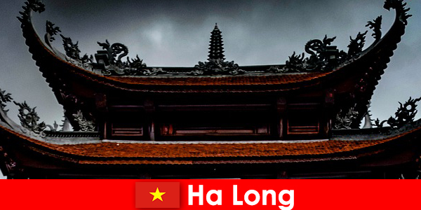 Ha long is known as a cultural city among strangers