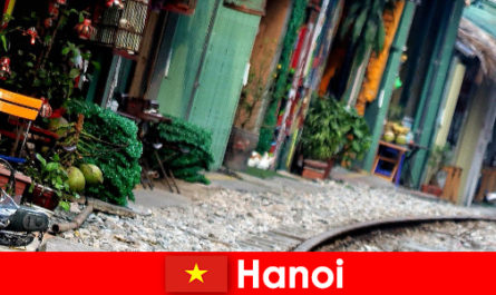 Hanoi is Vietnam's fascinating capital with narrow streets and trams
