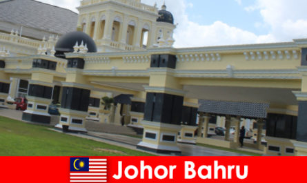 Johor Bahru the city at the port not only attracts believers to the old mosque but also tourists