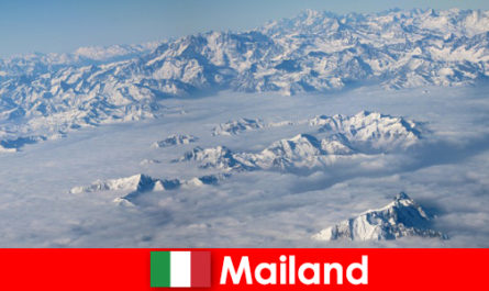 Milan one of the best ski resorts for tourists in Italy