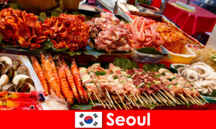 Seoul is also famous among travelers for its delicious and creative street food