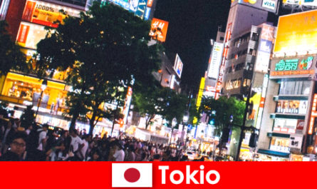 Tokyo for vacationers in the flickering neon lights city the perfect night life