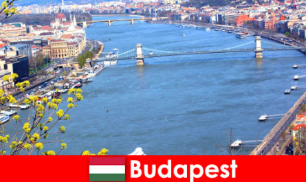 Budapest in Hungary is a popular travel tip for bathing and wellness holidays
