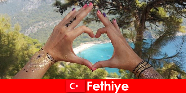 Beach vacation in Turkey Fethiye for young and old always a dream