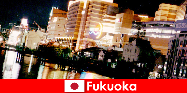 Fukuoka's numerous discos, nightclubs or restaurants are a top meeting place for vacationers