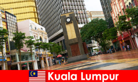 Kuala Lumpur is the cultural and economic center of the largest metropolitan area in Malaysia